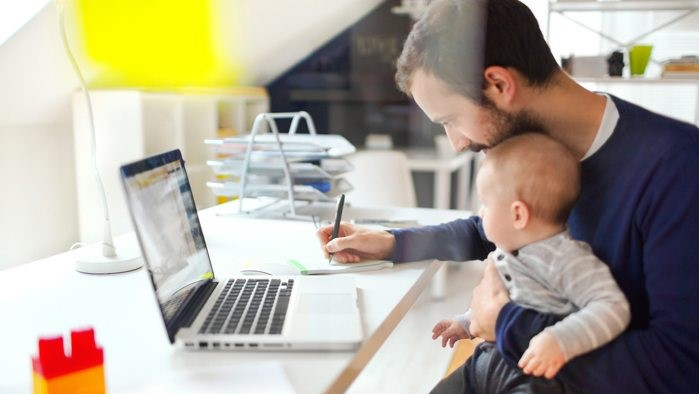 Employees Working From Home: homeschooling